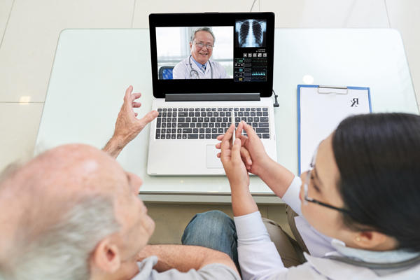 Example of a Telemedicine Session